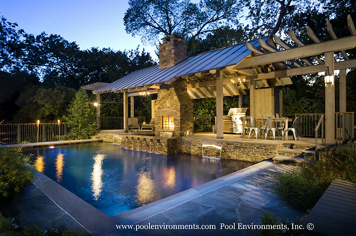 1000 Images About Outdoor Fireplace Pool Ideas On